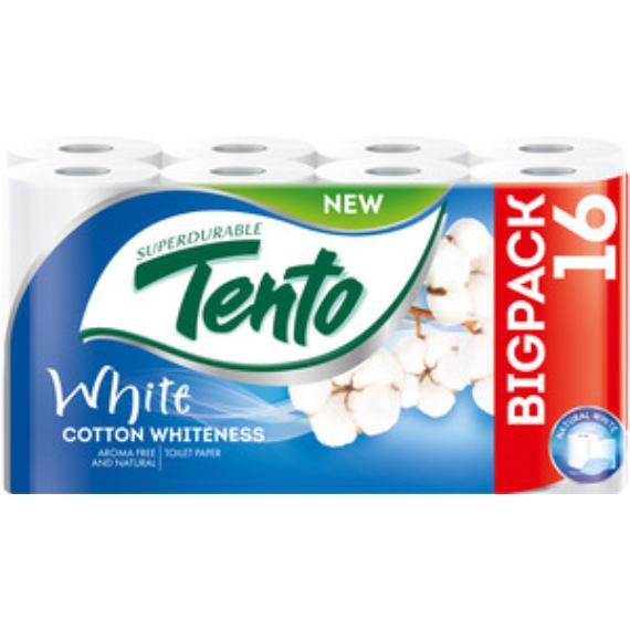 TENTO COTTON WHITENESS TOALETTPAPÍR 16 TEKERCSES
