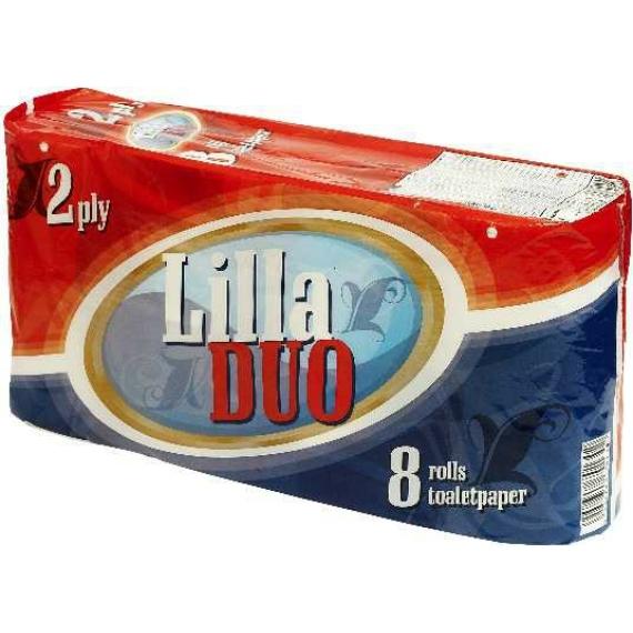 LILLA DUO (STAR) WC PAPÍR 8 TEKERCS 2 RÉTEGŰ