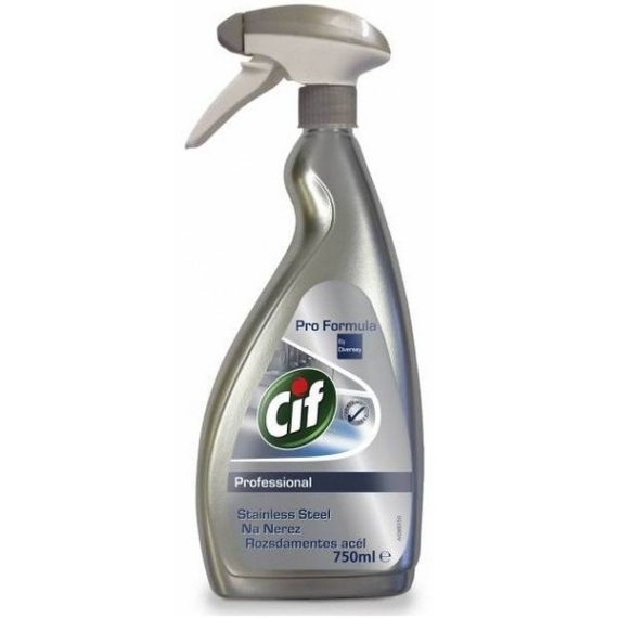 CIF PROFESSIONAL STAINLESS STEEL & GLASS - 750ML